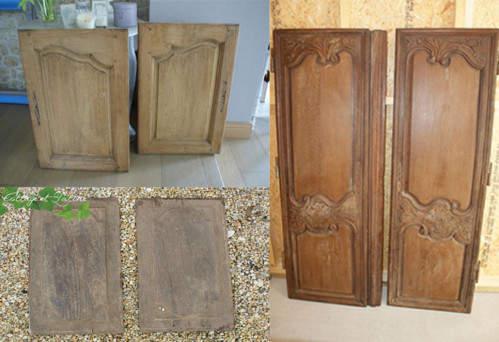 Stock grenier – façades et portes