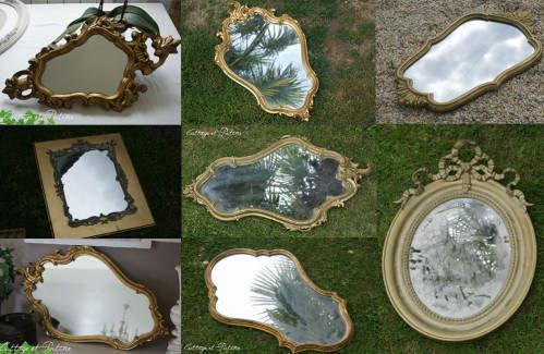 Stock grenier – Miroirs