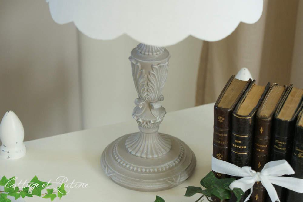 Lampe en bronze patinée – réf 3.16