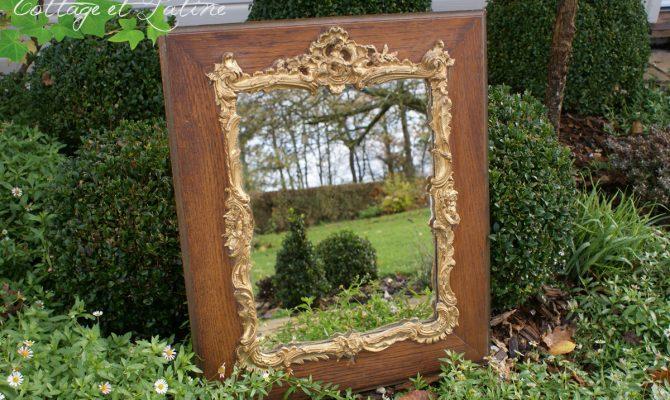 Miroir Rocaille ancien réf.V22