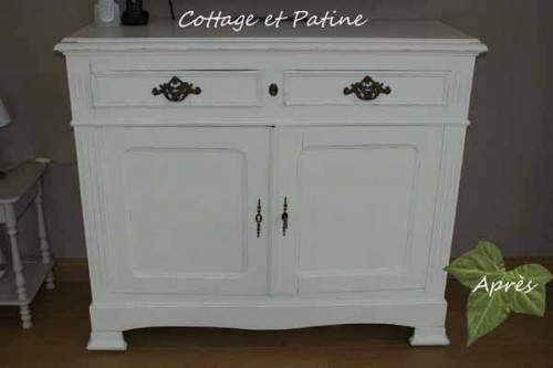 relooking de vos meubles cottage et patine. Black Bedroom Furniture Sets. Home Design Ideas