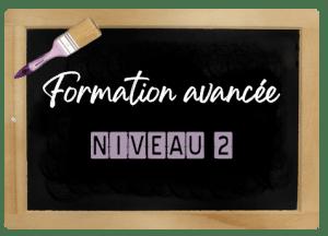 ARDOISE FORMATION AVANCEE NIVEAU 2 VIOLINE BLC
