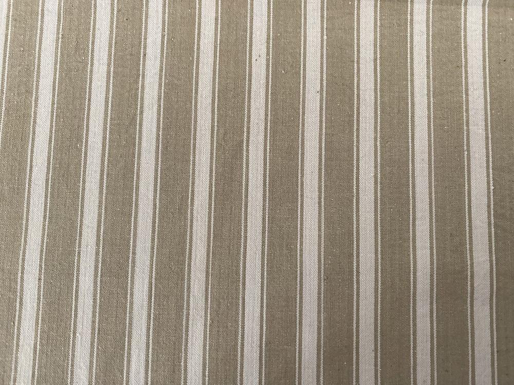 Tissu toile de matelas ficelle - Abat-jours faits mains selon vos goûts