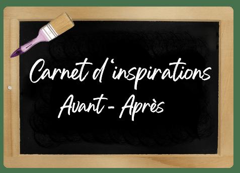 CARNET D'INSPIRATIONS RELOOKING AVANT APRES