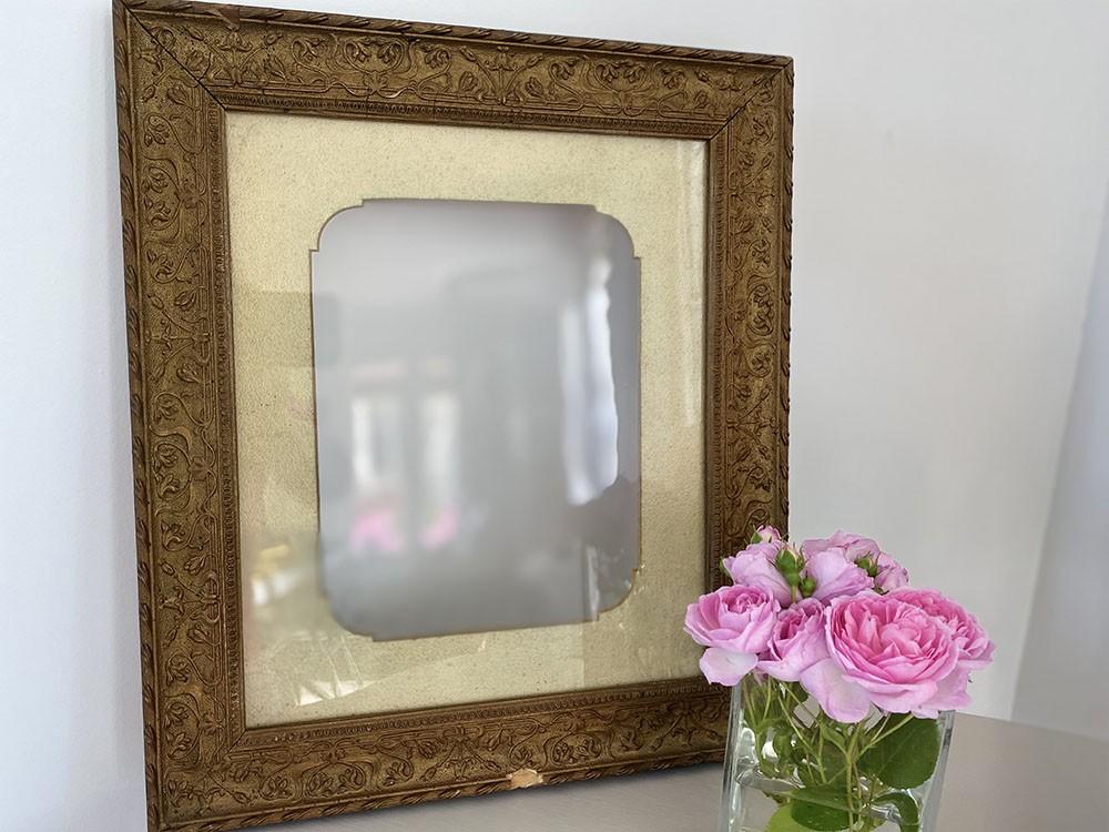 Cadre stock grenier ref 29 vendu dans son jus ou relooké / patiné Cottage et Patine