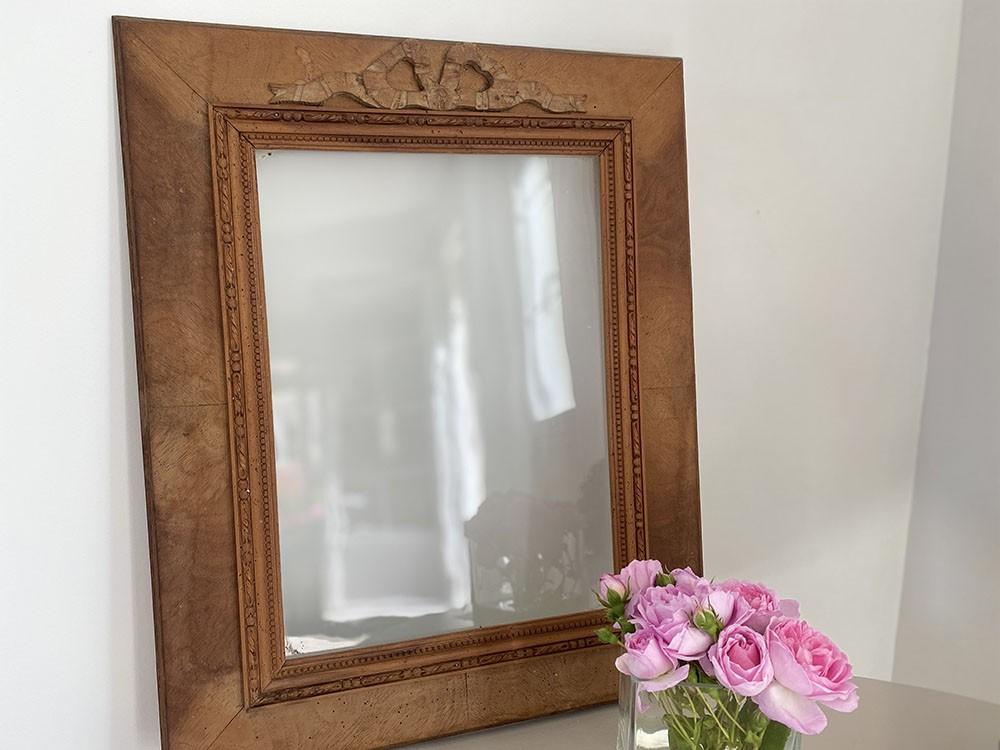 cadre rectangle à noeud ref stock 33 au grenier cottage et patine