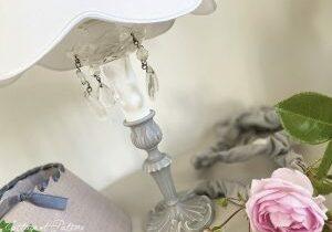 lampe en bronze ref 3.13 relookée et patinée lin Cottage et Patine