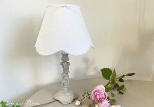lampe en bronze ref 3.15 relookée et patinée lin Cottage et Patine